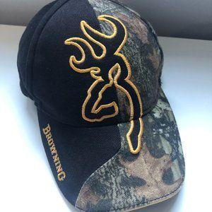 Browning Hunting Hat Cap Black Camo